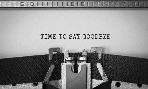 Good bye circle